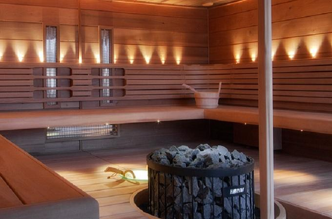 Sauna, wellness. Foto: Beta Wellness